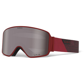 Giro Method Gafas, red peak/vivid onyx/vivid infrared